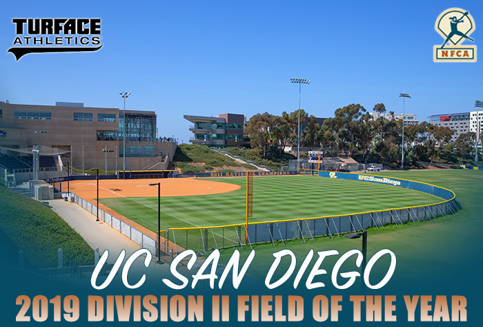 turface nfca field of the year, UC San Diego, Triton Softball Field, DII, Division II