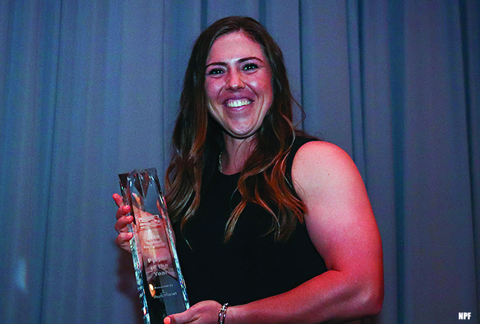 Amanda Chidester, National Pro Fastpitch, NPF Park Planet Player of the Year, Chicago Bandits, NPF