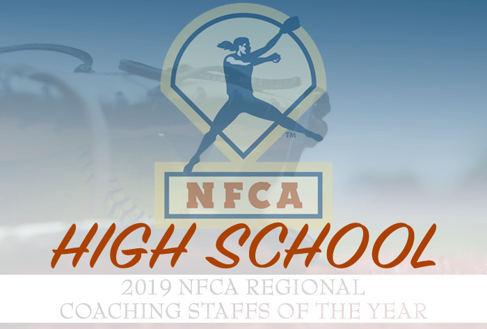 NFCA, NFCA High School Regional Coaching Staff of the Year, NFCA Coaching Staff of the Year, NFCA Regional Coaching Staff of the Year, High School,