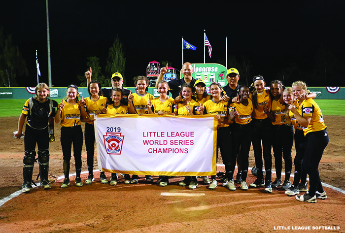 rowan little league, 2019 Little League Softball® World Series, Little League Softball® champions, Salisbury, North Carolina