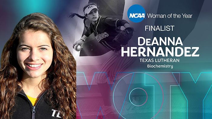 TLU's Hernandez top 9 finalist for 2020 NCAA Woman of the Year