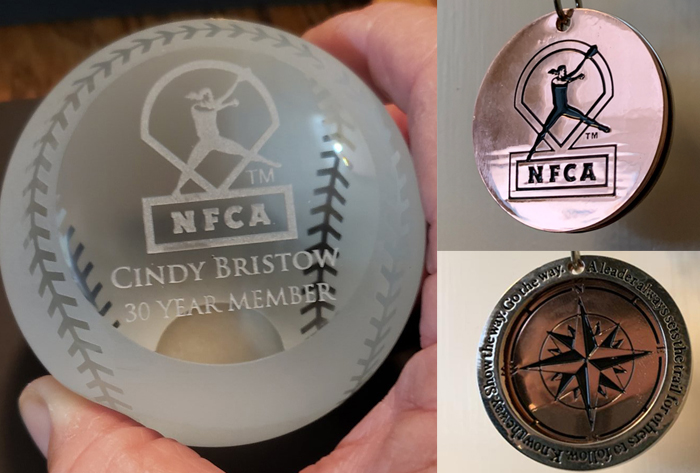 NFCA, award, service, tier, coaches, softball, fastpitch, division, member, years, history, loyalty