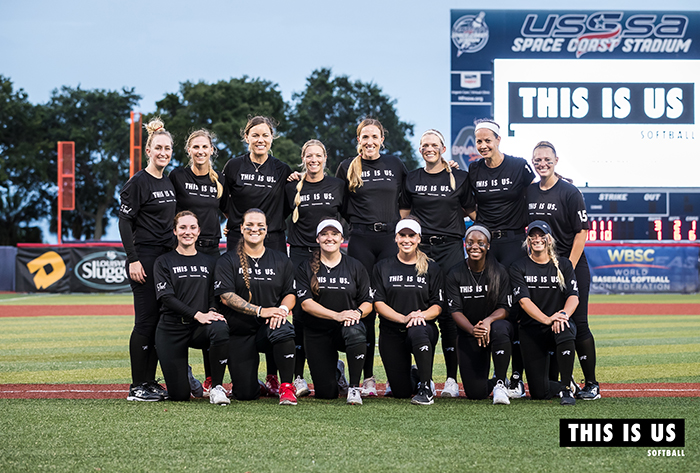 this is us, this is us softball, usssa pride, pro softball, professional softball, nfca