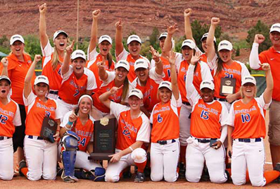 angelina college - 2014 NFCA NJCAA DI National Coaching Staff of the Year