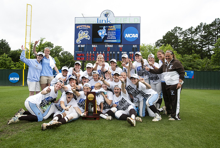Tufts - 2014 National Coaching Staff of the Year