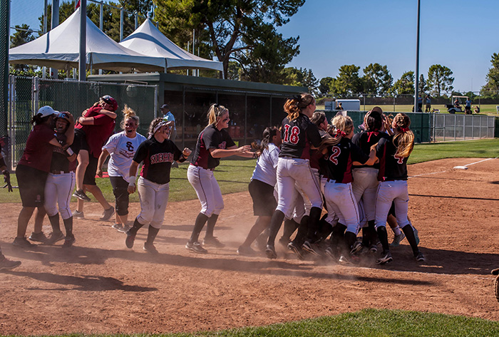 Sierra College - 2014 NFCA Cal JC National Coaching Staff of the Year