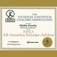Easton / NFCA Scholar Athlete